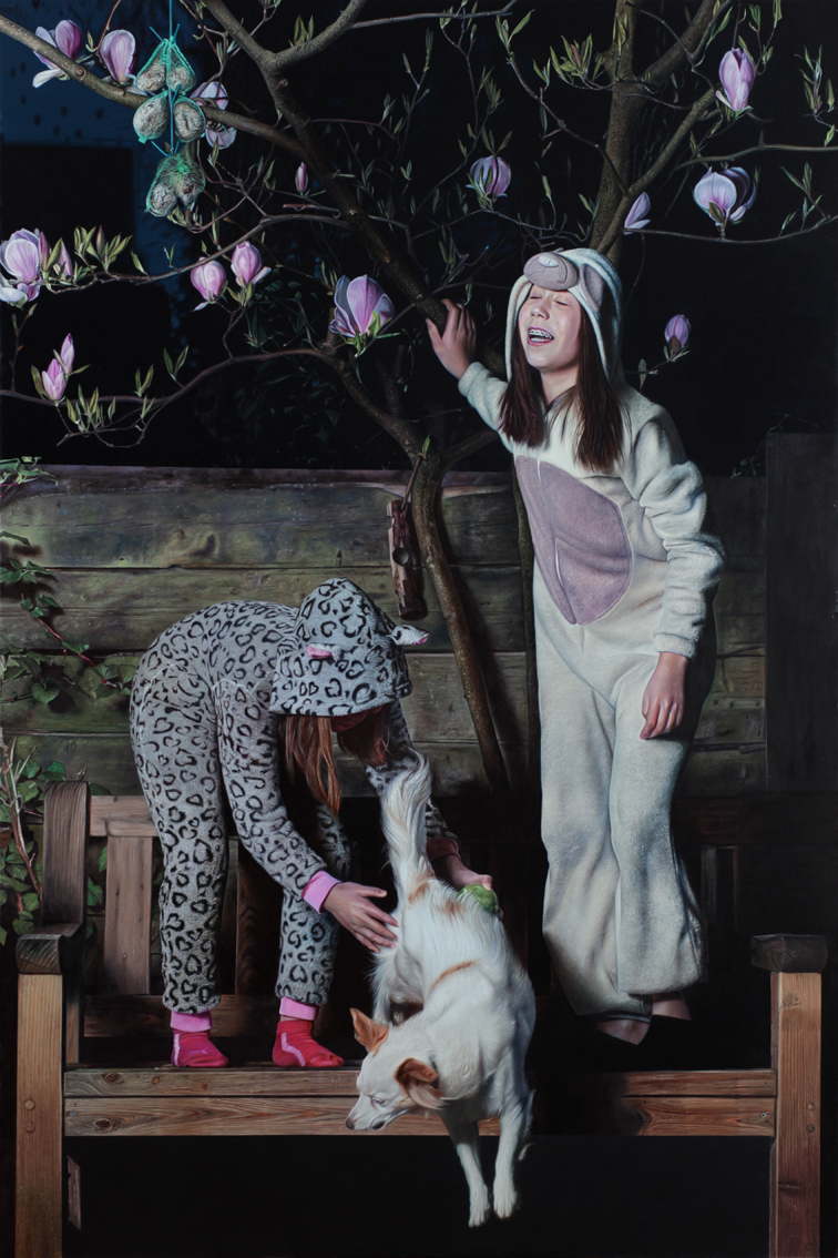 """Primavera"" Oil on canvas 150×100 cm, 2015"